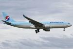 あしゅーさんが、福岡空港で撮影した大韓航空 A330-223の航空フォト(写真)