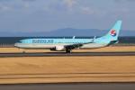 みっしーさんが、大分空港で撮影した大韓航空 737-9B5/ER の航空フォト(写真)