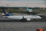 matsuさんが、フランクフルト国際空港で撮影したエア・アスタナ 757-2G5の航空フォト(写真)