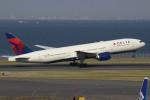 みっしーさんが、羽田空港で撮影したデルタ航空 777-232/ERの航空フォト(写真)