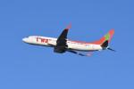 kuro2059さんが、新千歳空港で撮影したティーウェイ航空 737-8GJの航空フォト(写真)