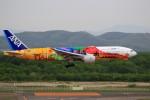 ☆ライダーさんが、新千歳空港で撮影した全日空 777-281/ERの航空フォト(写真)
