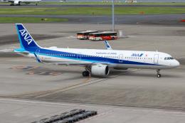 まくろすさんが、羽田空港で撮影した全日空 A321-272Nの航空フォト(飛行機 写真・画像)