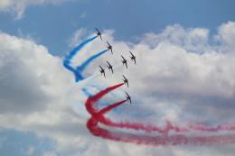 Yumasomaさんが、ル・ブールジェ空港で撮影したフランス空軍 Alpha Jet Eの航空フォト(飛行機 写真・画像)
