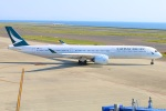 Tomo_mczさんが、中部国際空港で撮影したキャセイパシフィック航空 A350-1041の航空フォト(写真)