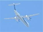 いねねさんが、名古屋飛行場で撮影したANAウイングス DHC-8-402Q Dash 8の航空フォト(写真)