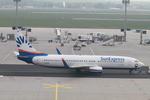 matsuさんが、フランクフルト国際空港で撮影したサンエクスプレス・ジャーマニー 737-8CXの航空フォト(写真)