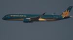 kenko.sさんが、成田国際空港で撮影したベトナム航空 A350-941XWBの航空フォト(写真)