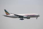 トールさんが、香港国際空港で撮影したエチオピア航空 777-F6Nの航空フォト(写真)