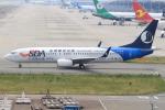 キイロイトリさんが、関西国際空港で撮影した山東航空 737-85Nの航空フォト(写真)