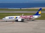 FT51ANさんが、神戸空港で撮影したスカイマーク 737-8ALの航空フォト(写真)
