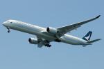 きんめいさんが、関西国際空港で撮影したキャセイパシフィック航空 A350-1041の航空フォト(写真)
