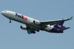 きんめいさんが、関西国際空港で撮影したフェデックス・エクスプレス MD-11Fの航空フォト(写真)