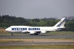 m_aereo_iさんが、成田国際空港で撮影したウエスタン・グローバル・エアラインズ 747-446(BCF)の航空フォト(写真)