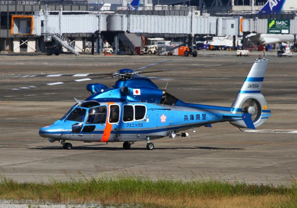 LOTUSさんの兵庫県警察 Airbus Helicopters H155 (JA155H) 航空フォト