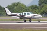 utarou on NRTさんが、高松空港で撮影した岡山航空 58 Baronの航空フォト(写真)