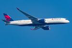 Tomo-Papaさんが、羽田空港で撮影したデルタ航空 A350-941XWBの航空フォト(写真)