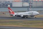 メンチカツさんが、羽田空港で撮影したカンタス航空 747-438/ERの航空フォト(写真)