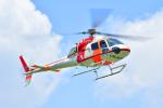 VOXY2005さんが、群馬ヘリポートで撮影した朝日航洋 AS355F2 Ecureuil 2の航空フォト(飛行機 写真・画像)