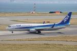 神宮寺ももさんが、関西国際空港で撮影した全日空 737-881の航空フォト(写真)