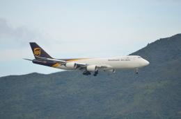 溝川 眞司さんが、HONGKONGで撮影したUPS航空 747-8Fの航空フォト(飛行機 写真・画像)