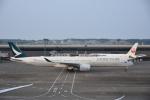 masa634さんが、成田国際空港で撮影したキャセイパシフィック航空 A350-1041の航空フォト(写真)