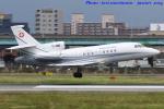 いおりさんが、福岡空港で撮影したスイス空軍 Falcon 900EXの航空フォト(写真)
