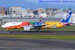 いおりさんが、福岡空港で撮影した全日空 777-281/ERの航空フォト(写真)