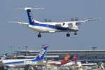 パンダさんが、成田国際空港で撮影したANAウイングス DHC-8-402Q Dash 8の航空フォト(飛行機 写真・画像)