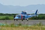 Gambardierさんが、岡南飛行場で撮影した佐賀県警察 AW109SPの航空フォト(写真)