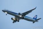 遠森一郎さんが、福岡空港で撮影した全日空 A321-211の航空フォト(写真)