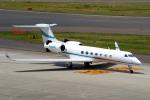 yabyanさんが、中部国際空港で撮影したプライベートエア G-V-SP Gulfstream G550の航空フォト(飛行機 写真・画像)