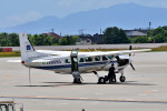 Dojalanaさんが、函館空港で撮影したアジア航測 208 Caravan Iの航空フォト(飛行機 写真・画像)