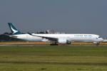 tassさんが、成田国際空港で撮影したキャセイパシフィック航空 A350-1041の航空フォト(飛行機 写真・画像)