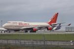 tmkさんが、関西国際空港で撮影したエア・インディア 747-437の航空フォト(写真)