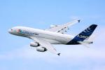 ちゃぽんさんが、ル・ブールジェ空港で撮影したエアバス A380-841の航空フォト(飛行機 写真・画像)