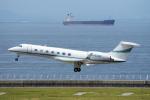 yabyanさんが、中部国際空港で撮影したプライベートエア G500/G550 (G-V)の航空フォト(飛行機 写真・画像)