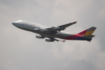 OMAさんが、香港国際空港で撮影したアシアナ航空 747-48EM(BDSF)の航空フォト(飛行機 写真・画像)