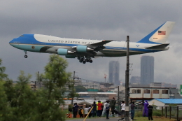 リクパパさんが、伊丹空港で撮影したアメリカ空軍 VC-25A (747-2G4B)の航空フォト(飛行機 写真・画像)