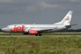 Hariboさんが、アムステルダム・スキポール国際空港で撮影したジェット・ツー 737-33Aの航空フォト(飛行機 写真・画像)