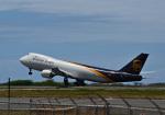 kuroyさんが、ダニエル・K・イノウエ国際空港で撮影したUPS航空 747-8Fの航空フォト(写真)