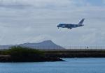 kuroyさんが、ダニエル・K・イノウエ国際空港で撮影した全日空 A380-841の航空フォト(写真)