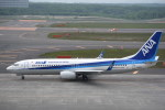 kumagorouさんが、新千歳空港で撮影した全日空 737-8ALの航空フォト(写真)