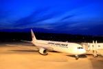 ドリさんが、福島空港で撮影した日本航空 767-346/ERの航空フォト(写真)