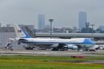 T.Sazenさんが、伊丹空港で撮影したアメリカ空軍 VC-25A (747-2G4B)の航空フォト(飛行機 写真・画像)