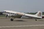 MOR1(新アカウント)さんが、熊本空港で撮影したスーパーコンステレーション飛行協会 DC-3Aの航空フォト(飛行機 写真・画像)