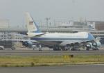 ふうちゃんさんが、伊丹空港で撮影したアメリカ空軍 VC-25A (747-2G4B)の航空フォト(写真)
