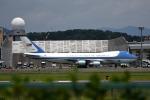 we love kixさんが、伊丹空港で撮影したアメリカ空軍 VC-25A (747-2G4B)の航空フォト(飛行機 写真・画像)