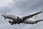 we love kixさんが、伊丹空港で撮影したアメリカ空軍 C-40C BBJ (737-7CP)の航空フォト(飛行機 写真・画像)