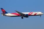 たみぃさんが、成田国際空港で撮影したデルタ航空 767-432/ERの航空フォト(写真)